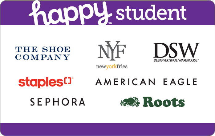 Happy Student Card