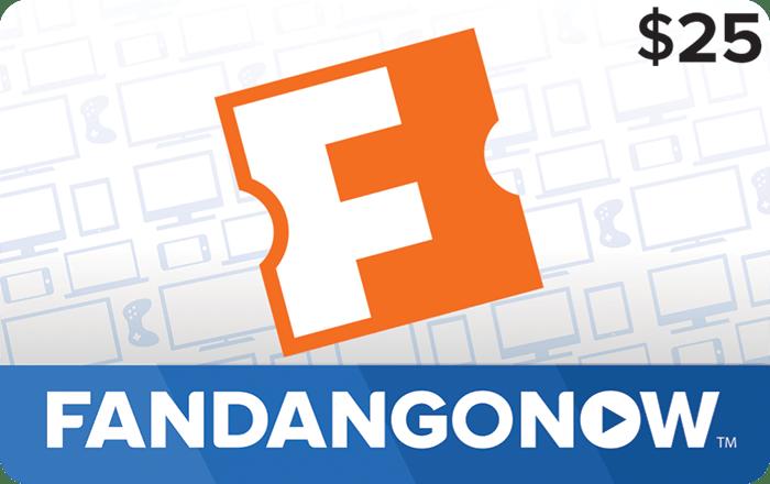 Fandango Now $25 Gift Card