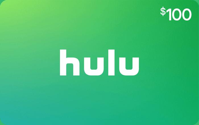 Hulu $100 eGift