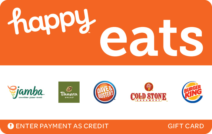 Promotion of Happy Eats Gift Card