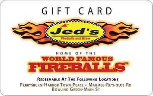 Jeds Fireballs & Brews eGift Card
