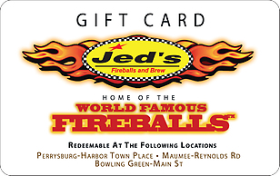 Jed's Fireballs & Brews eGift Card