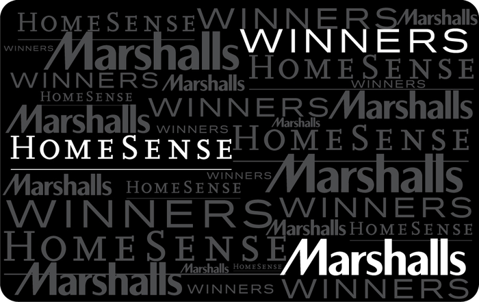 Winners, HomeSense and Marshalls eGift Card