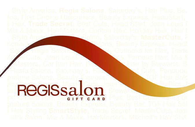 Regis Salon Gift Card