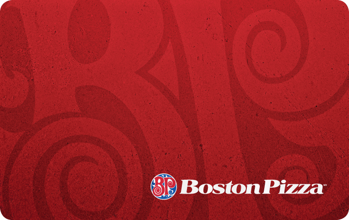Corporate Orders of Boston Pizza eGift Cards