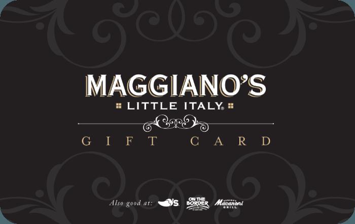 Maggianos eGift Card