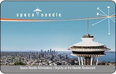 Space Needle Gift Card