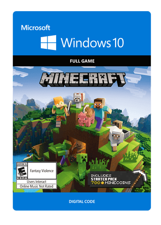 Xbox Minecraft for Windows 10 Starter Collection eGift Card