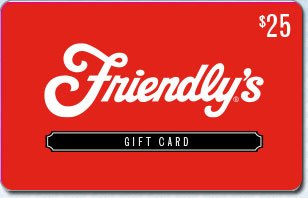 Friendly's Ice Cream $25 eGift