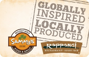Sammys Woodfired Pizza & Grill eGift Card