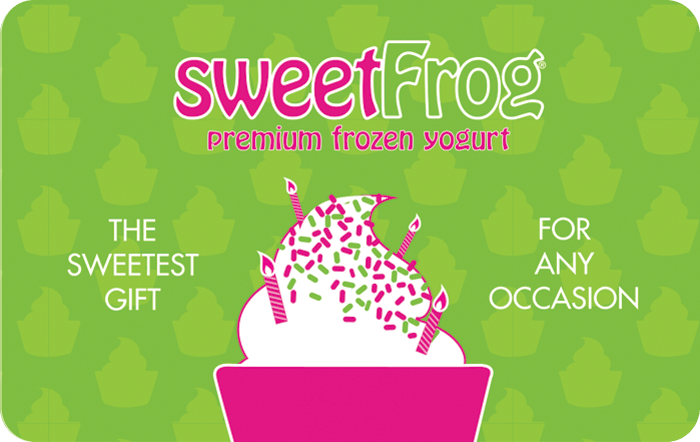sweetFrog eGift Card