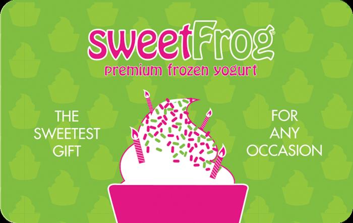 sweetFrog eGift Card