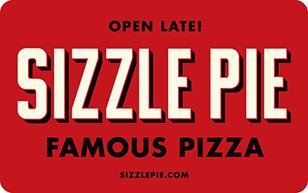 Sizzle Pie eGift Card