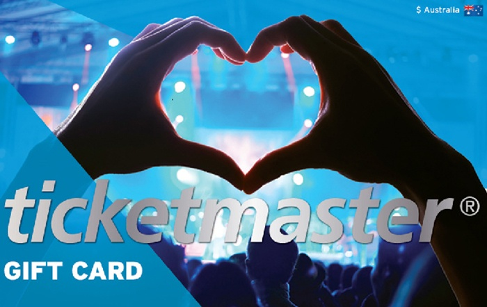 Ticketmaster $100 Gift Card