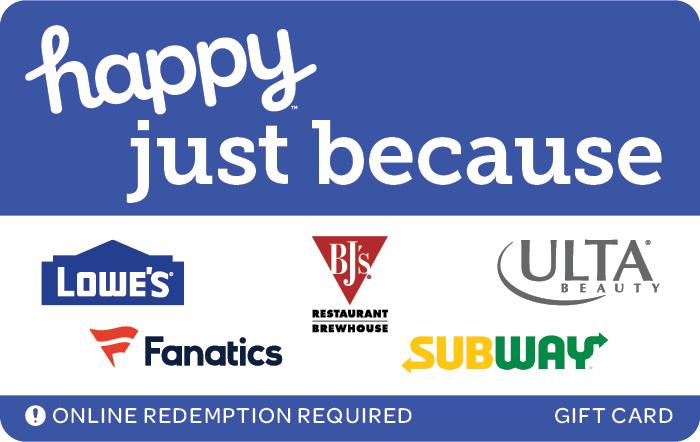 Happy Just Because Swap eGift