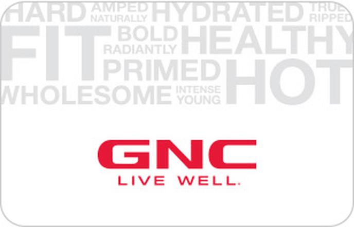GNC Gift Card