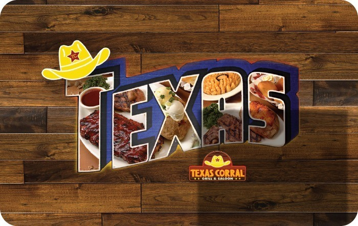 Texas Corral Gift Card