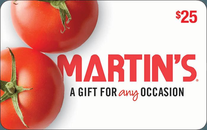 Martin's Food Market $25 Gift Card