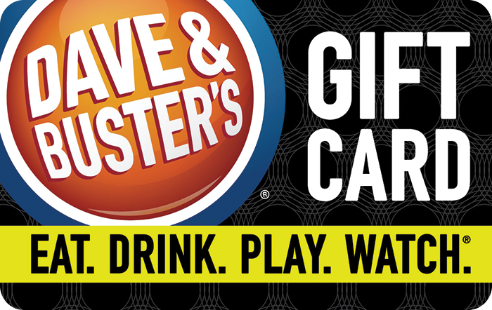 Dave Busters Gift Cards