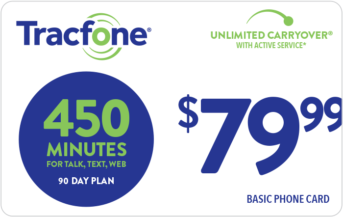 Promotion of TRACFONE Prepaid Phone Card (e-delivery)