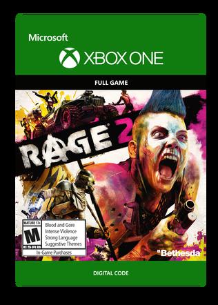 Rage 2 Full Game $59.99 eGift