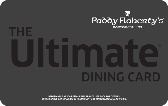 Paddy Flaherty's Irish Pub eGift Card