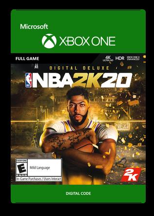 XBox NBA 2K20 DX $79.99 eGift