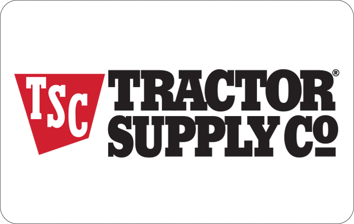 Tractor Supply Company $25 Gift Card