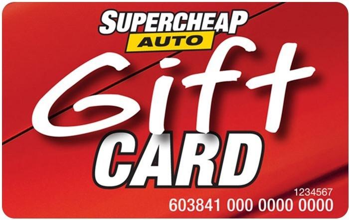 Super Cheap Auto eGift Card