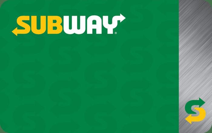 Subway eGift Card