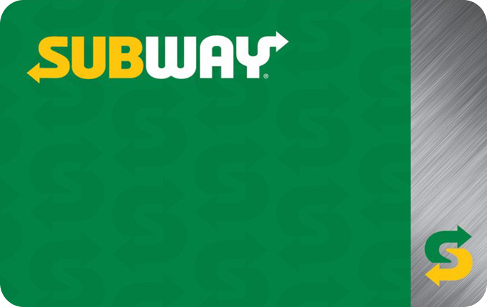 Promotion of Subway eGift