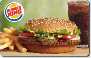 Burger King Whopper eGift
