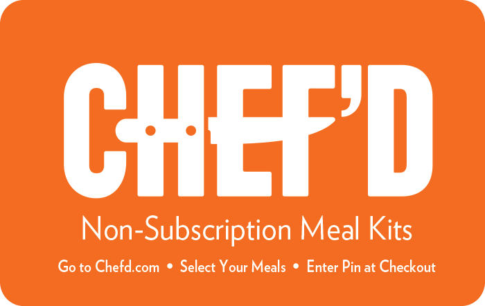 CHEF'D eGift Card