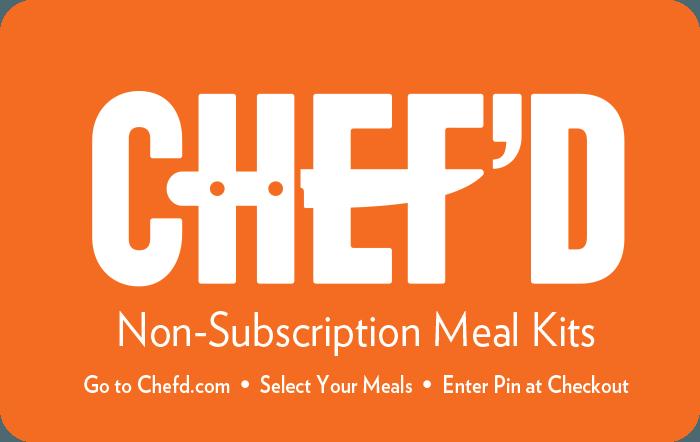 CHEF'D $50 eGift