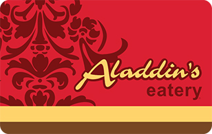 Aladdin's Eatery eGift Card