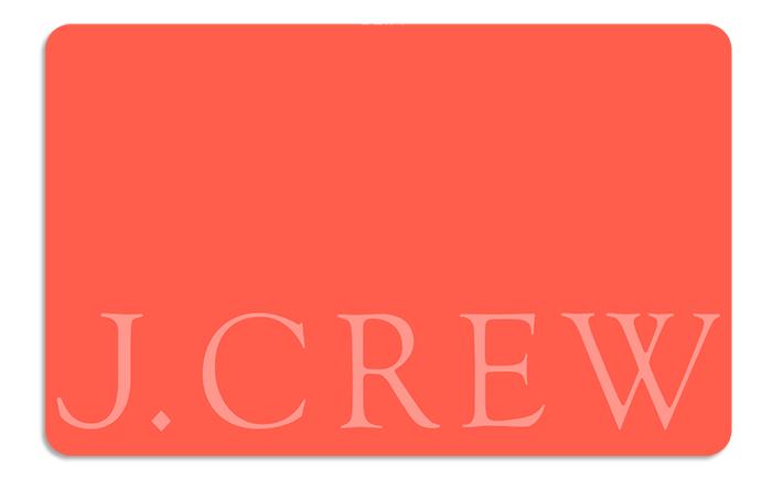 J Crew Gift Card