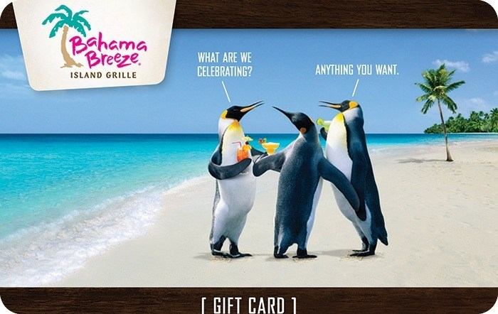 Bahama Breeze® eGift Card