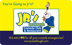 Jrs Last Laugh Gift Cards