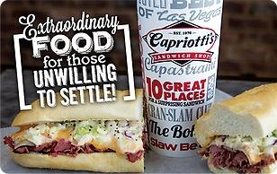 Capriottis Sandwich Shop eGift Card