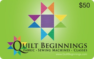 Quilt Beginnings eGift Cards