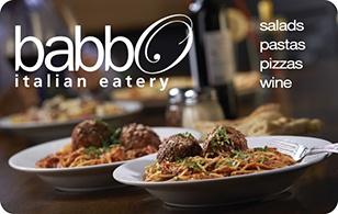 Babbo Italian Eatery eGift Card