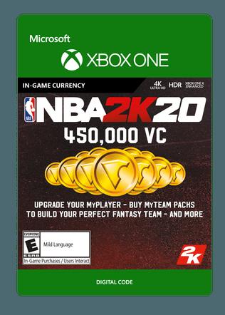 Xbox NBA 2K20 450000VC eGift