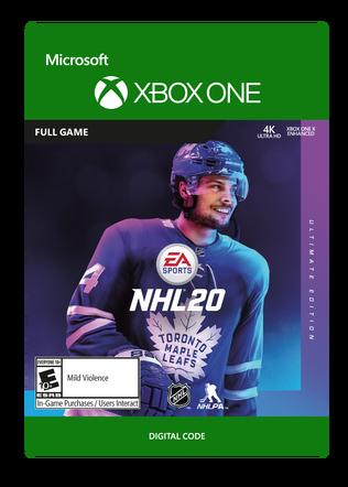 XBOX C2C NHL 20: ULTIMATE EDITION $79.99