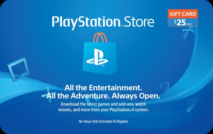 Sony Playstation $25 eGift