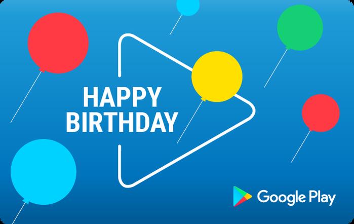 Google Birthday eGift