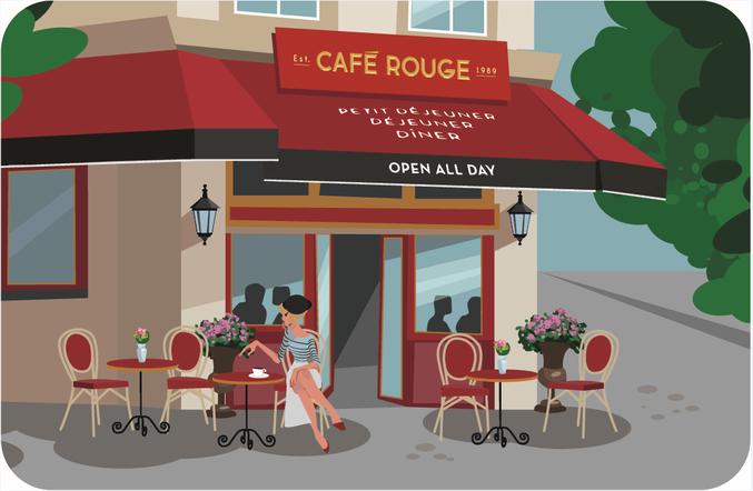Cafe Rouge eGift