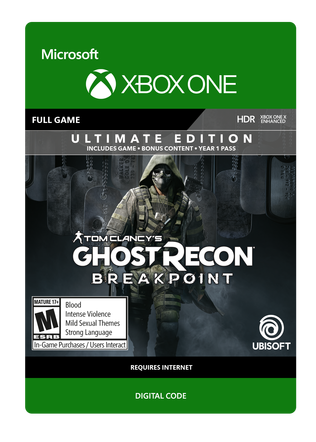 XBOX Ghost Recon Breakpoint UE $119.99