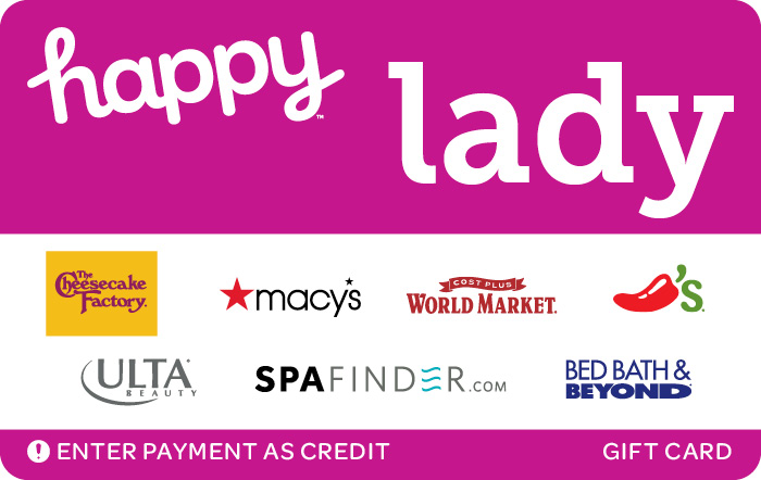 Happy Lady Gift Card
