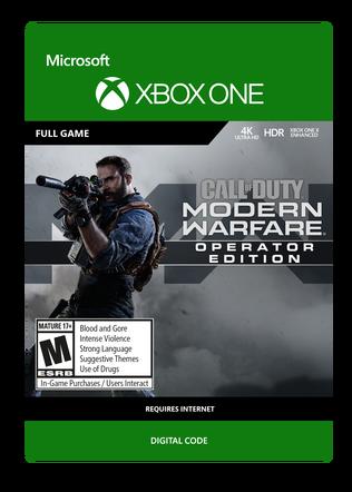 XBOX Modern Warfare OE $79.99