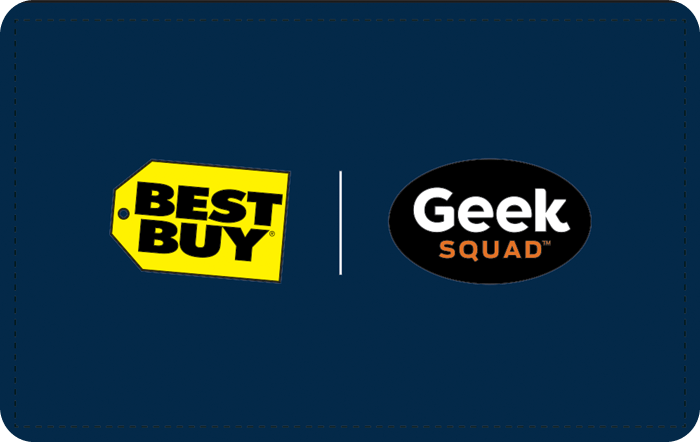 Best Buy Geek Squad Gift Card